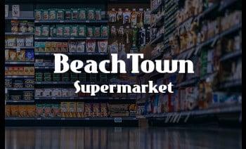 Beach Town Supermarket