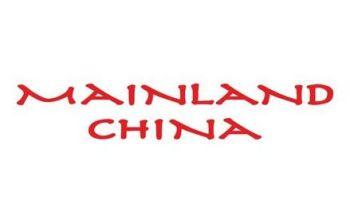 Mainland China India