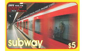 Subway PINLESS Canada