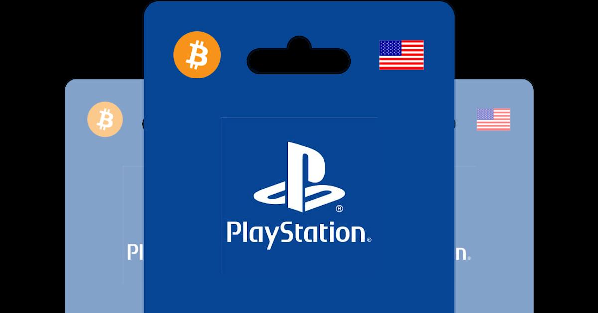 psn card bitcoin
