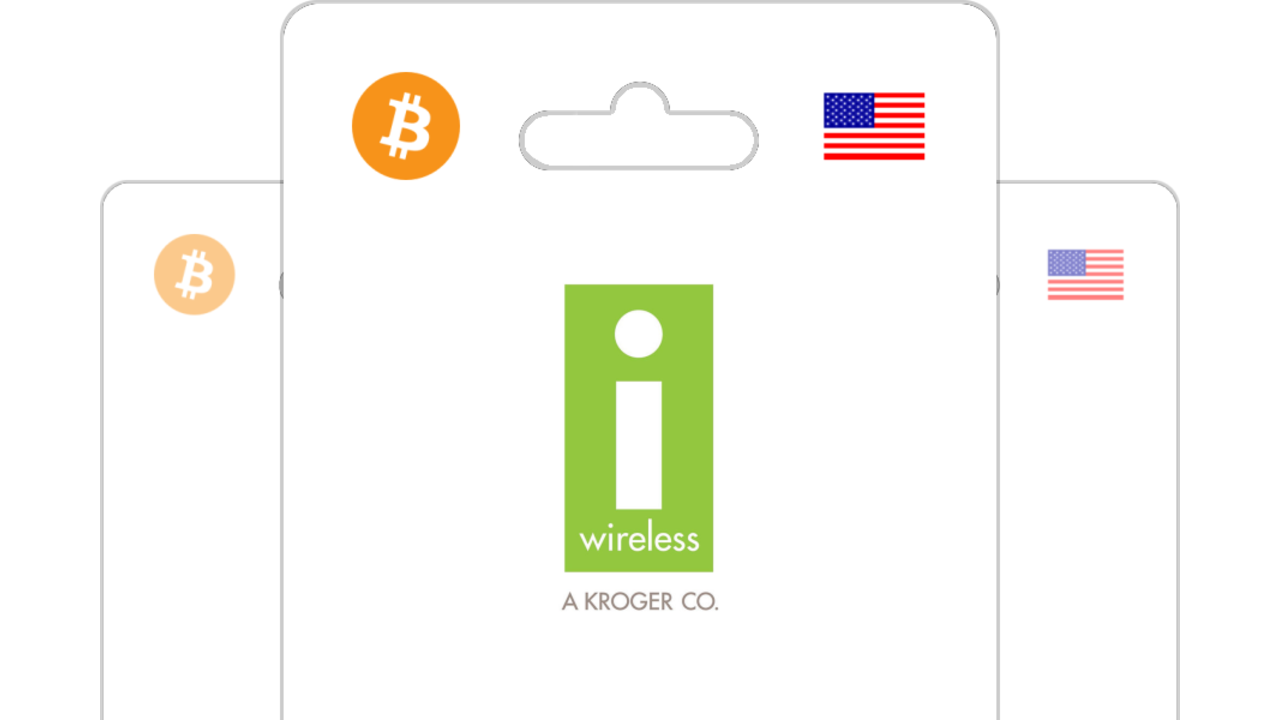 i-Wireless Kroger pin