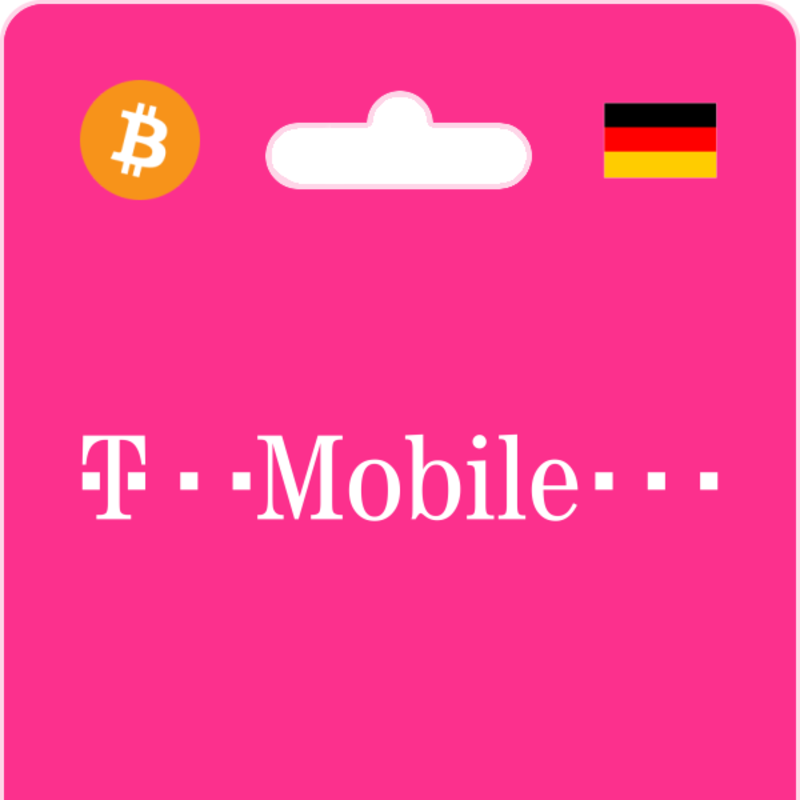 T Mobile Top Up Mit Bitcoin Or Altcoins Bitrefill