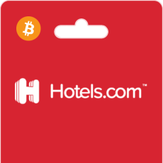 Hotels.com Gift Cards on Bitrefill with Bitcoin oder Altcoins