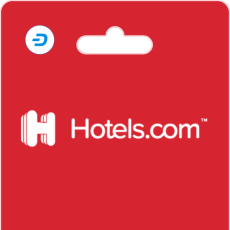 Hotels.com Gift Cards on Bitrefill with Dash