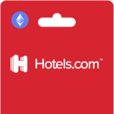 Hotels.com Gift Cards on Bitrefill with Ethereum