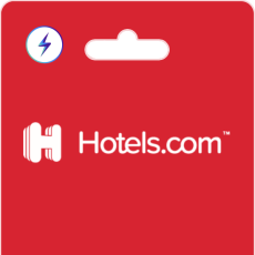 Hotels.com Gift Cards on Bitrefill with Lightning