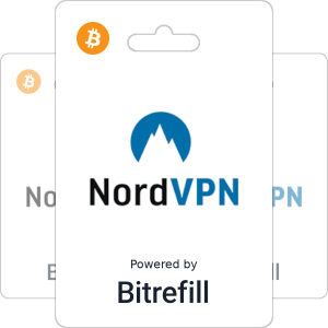 Buy NordVPN gift cards with Bitcoin or altcoins