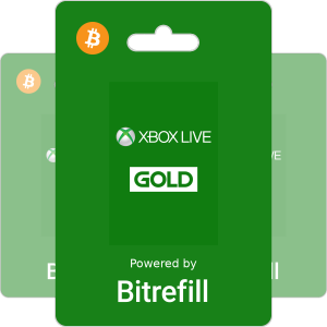 Buy Xbox Live Gold with Bitcoin or altcoins