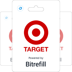 Buy Target gift cards with Dash