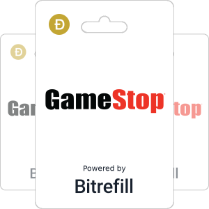 Buy Gamestop gift cards with Dogecoin