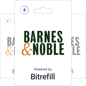 Buy Barnes and Noble gift cards with Lightning