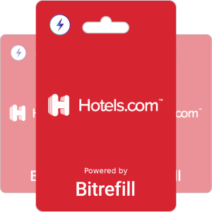 Buy Hotels.com Gift Card Vouchers with Lightning