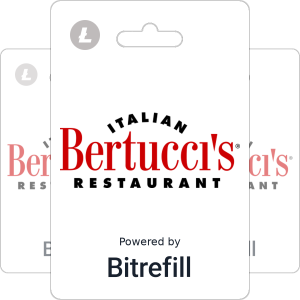Buy Bertucci's USA gift cards with Litecoin