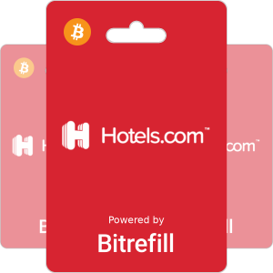 Buy Hotels.com Gift Card Vouchers with Bitcoin or altcoins