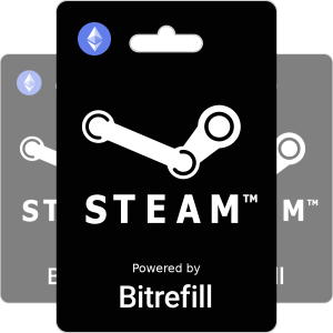 Buy Steam gift cards with Ethereum
