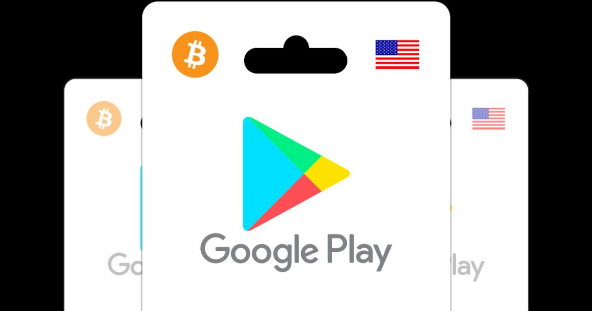 Achetez Des Cartes Cadeau Google Play Avec Vos Bitcoin