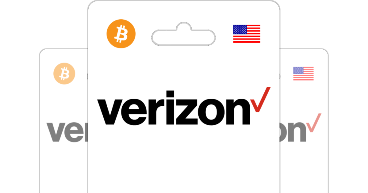 Buy Verizon Wireless PIN with Bitcoin or altcoins