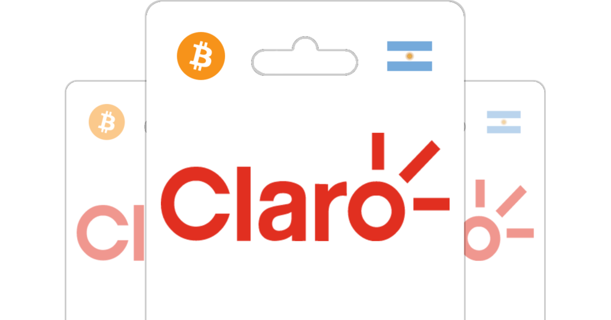 Claro Prepaid Top Up with Bitcoin or altcoins