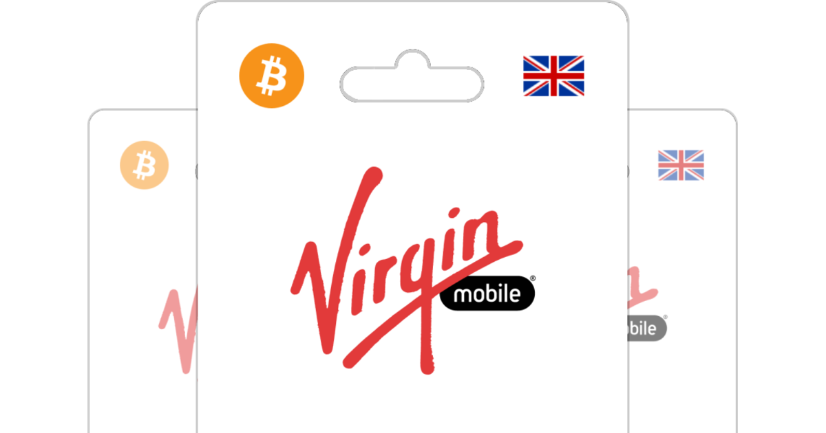Buy Virgin Mobile PIN UK with Bitcoin or altcoins