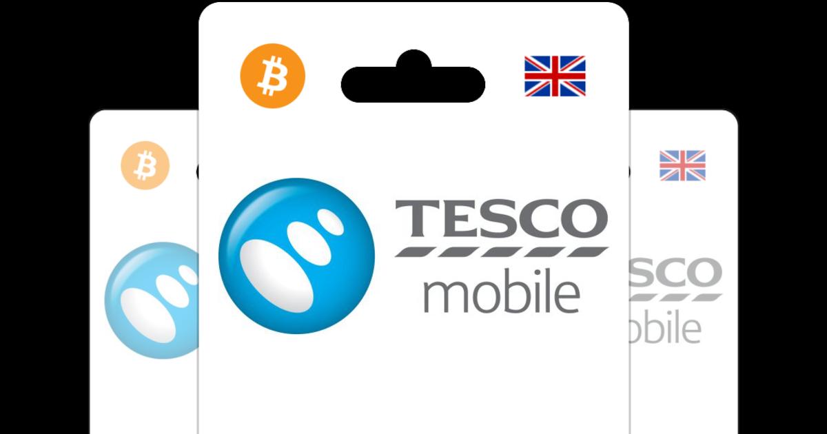 Buy Tesco Mobile PIN with Bitcoin or altcoins