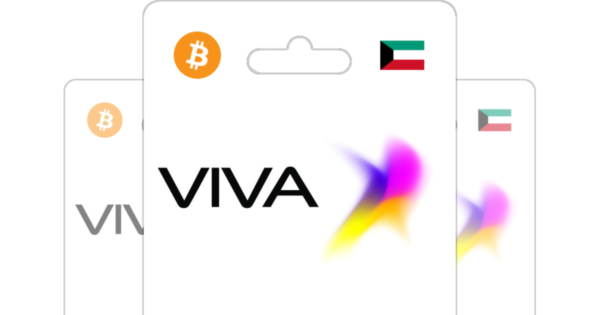 Viva Prepaid Top Up with Bitcoin or altcoins